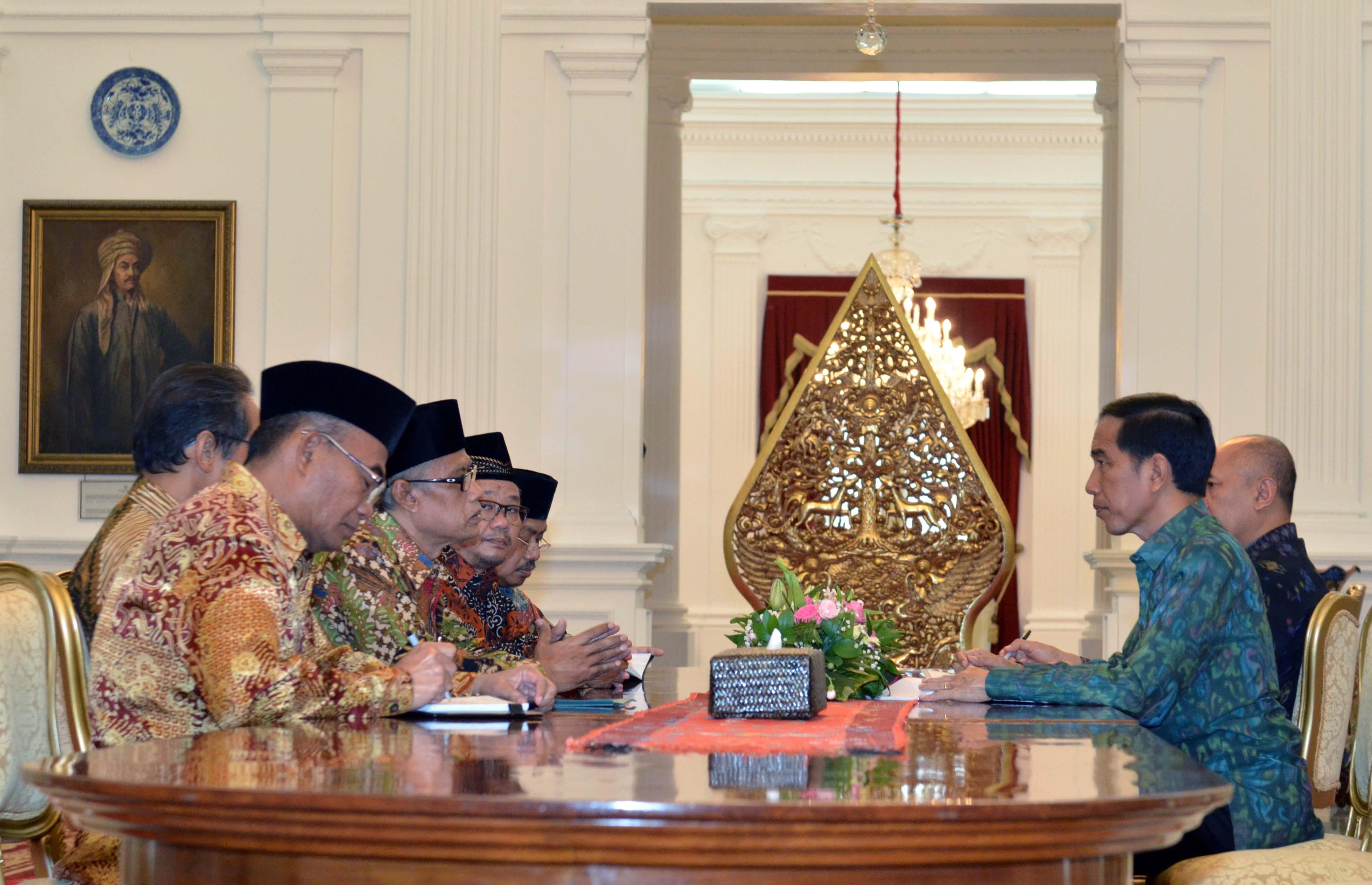Temui PP Muhammadiyah, Presiden: Islam di Indonesia Harus Jadi Barometer Kemajuan