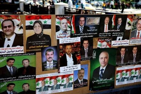 Kampanye Pemilu Parlemen Suriah Dimulai