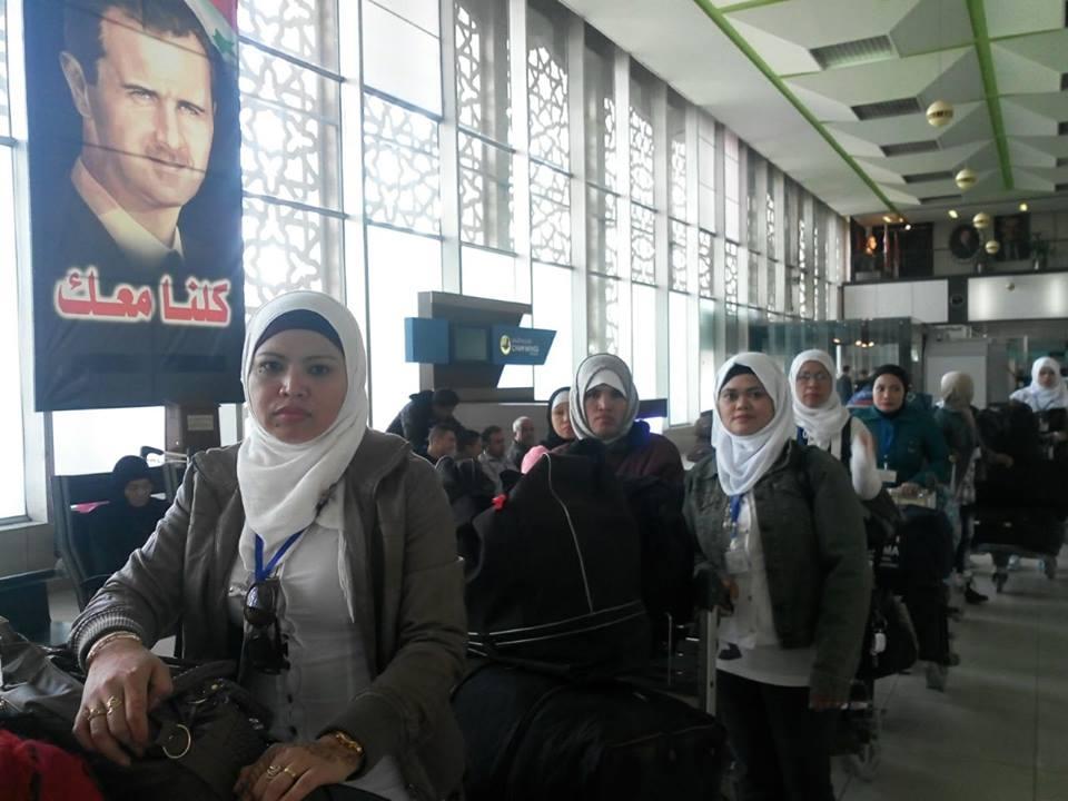 KBRI Damaskus Pulangkan 41 WNI
