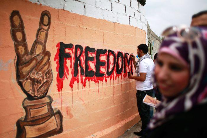 UE: Kontruksi Tembok Pemisah Batasi Aktivitas Warga Palestina