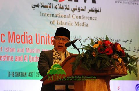 Imaam Yakhsyallah Mansur: Media Berperan Bentuk Opini Dunia