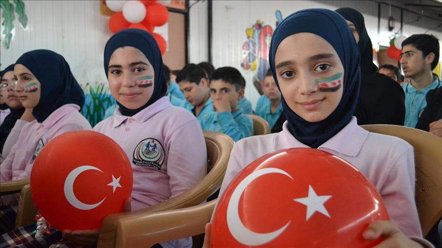 Unicef  dan Uni Eropa Bantu Pendidikan Anak Suriah di Pengungsian di Turki