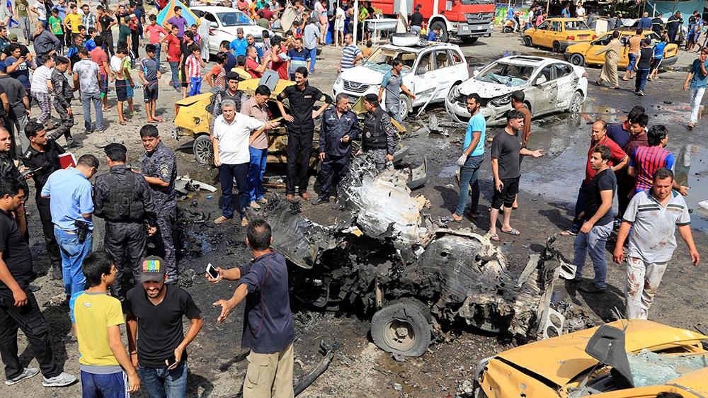 Tiga Bom Bunuh Diri di Baghdad Tewaskan Lebih 70 Orang