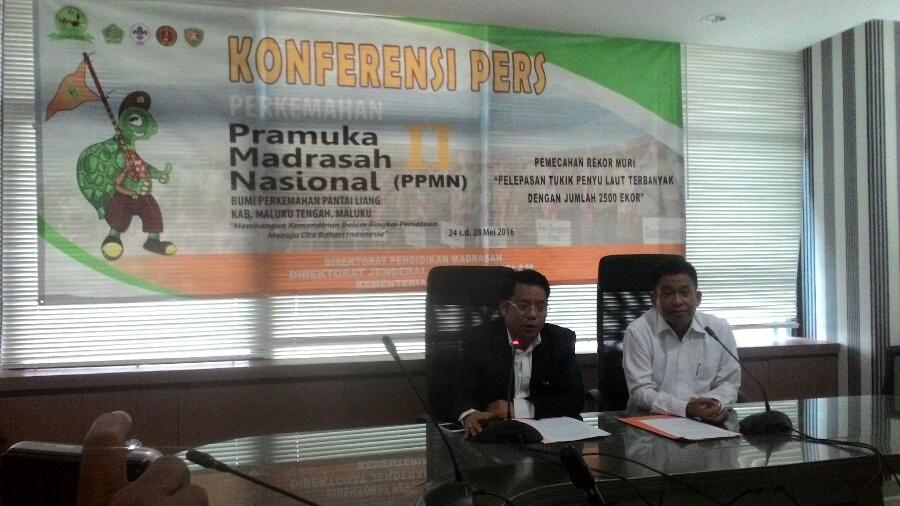 Kemenag Adakan Perkemahan Pramuka Madrasah Nasional Kedua