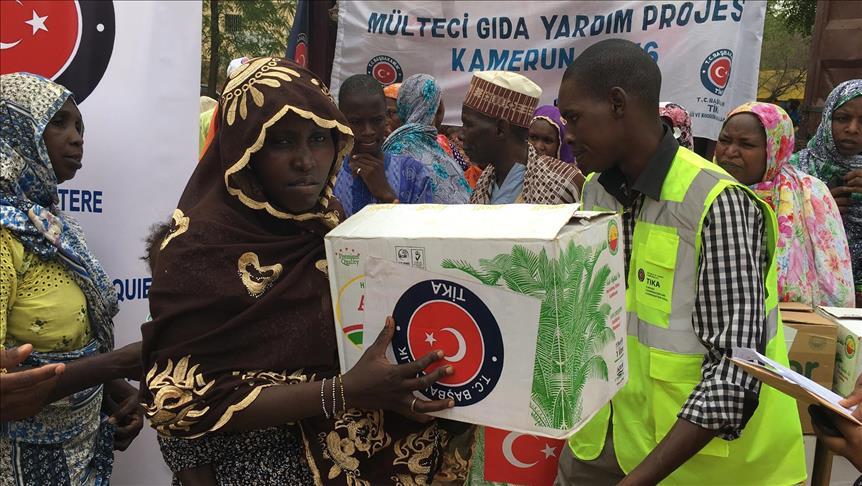 Lembaga Kemanusiaan Turki Bantu Pengungsi di Kamerun