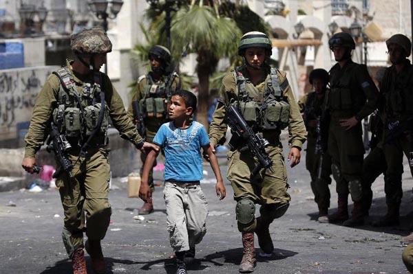 PBB Prihatin Penahanan Anak Palestina Di Bawah Umur Meningkat