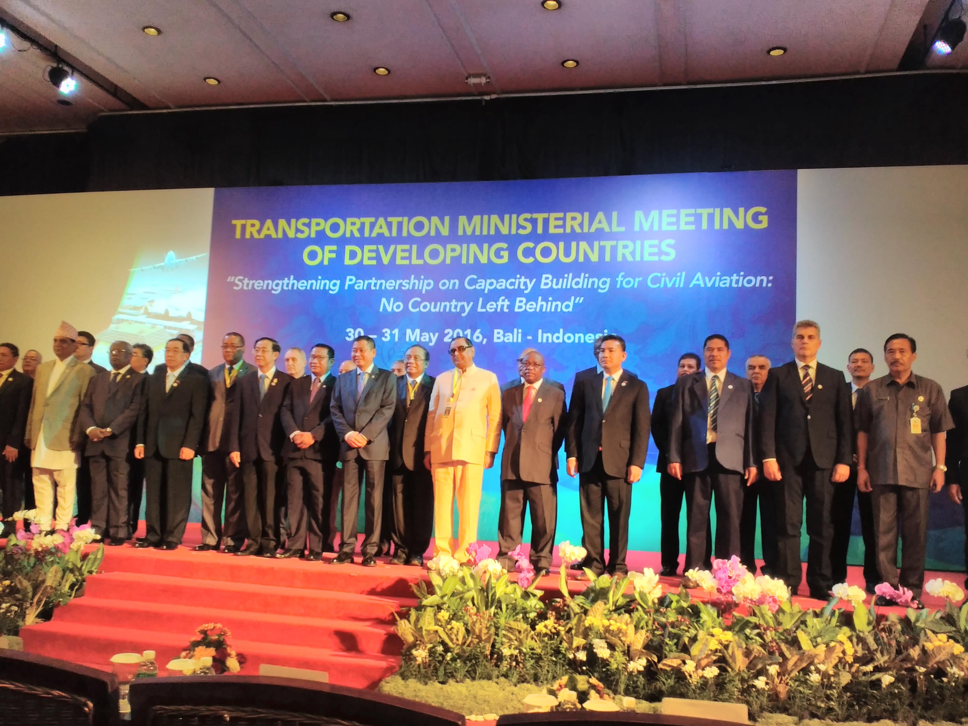 32 Negara Berkembang Berembuk di Bali Bahas Peningkatan Kerjasama dan Layanan Penerbangan Sipil