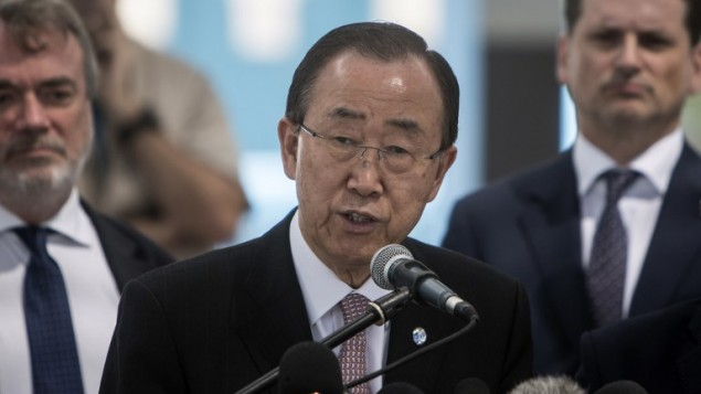 Ki-Moon Katakan Fahami Ketakutan dan Frustrasi Netanyahu dengan Situasi di Gaza