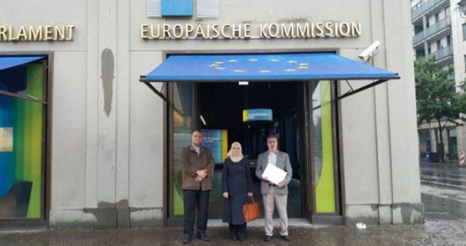 Komunitas Palestina di Jerman Desak Komisi Eropa Buka Blokade