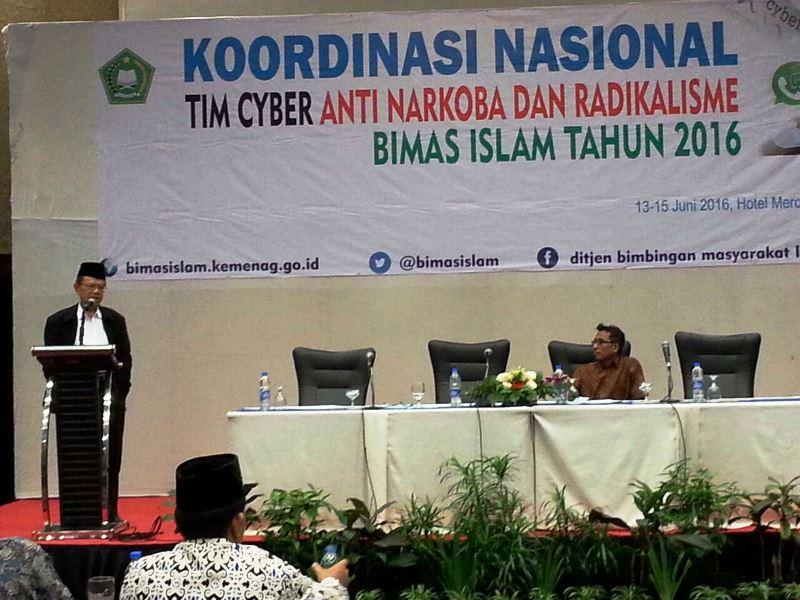 Imbangi Konten Radikal, Kemenag Bentuk Tim Cyber Anti Narkoba dan Radikalisme