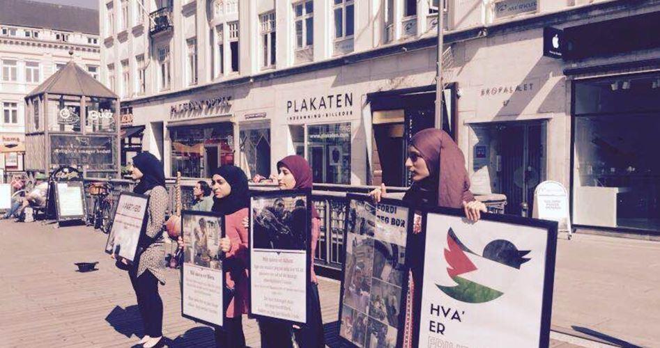 Komunitas Pemuda Denmark Gelar Aksi Simpati Terhadap Gaza