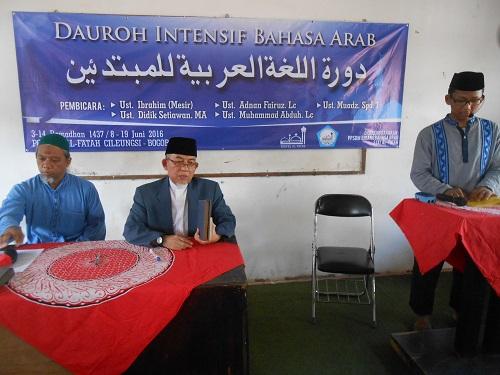 Imaamul Muslimin: Tidak Boleh Putus Asa Dalam Belajar Bahasa Arab