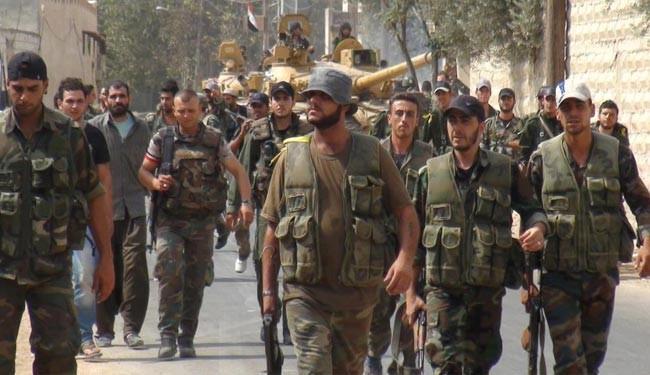 Pasukan Rezim Suriah Masuki Ibukota ISIS