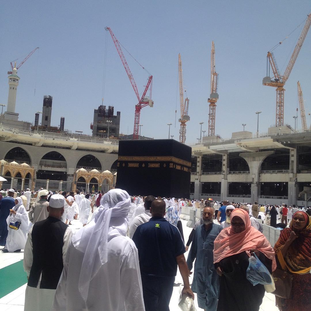Saudi Kurangi Alat Berat 'Crane' di Masjidil Haram Menjadi 13
