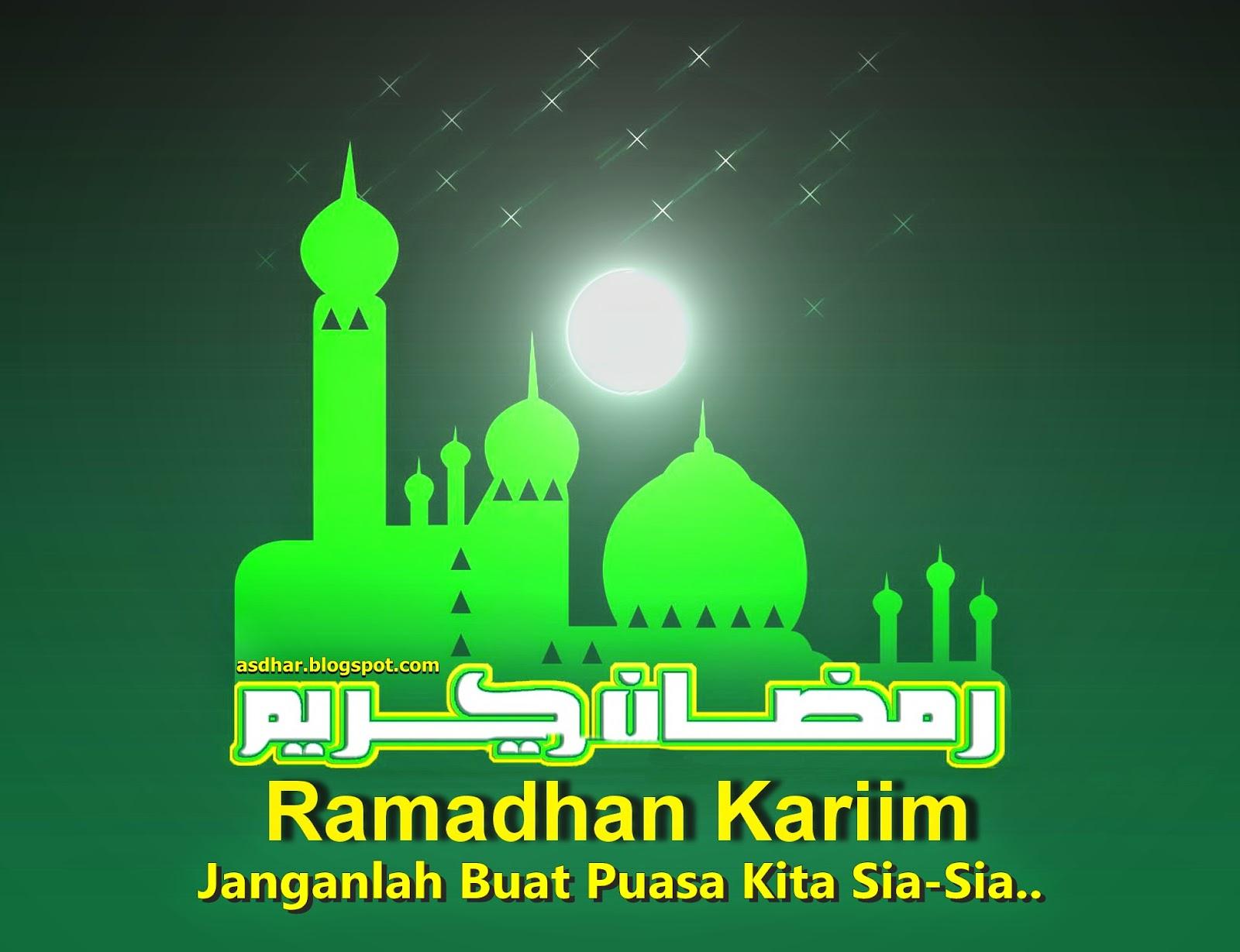 Jangan Biarkan Puasa Ramadhan Kita Sia-Sia