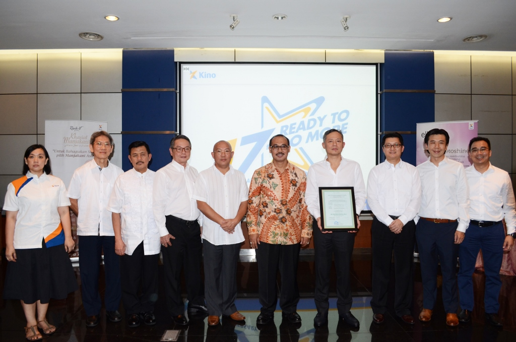 PT Kino Indonesia Raih Sertifikat Halal MUI