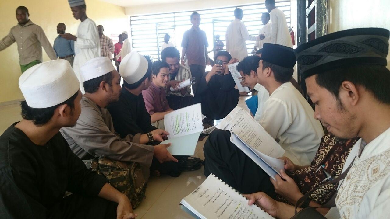 Suasana Ujian Ramadhan Mahasiswa Indonesia di Sudan