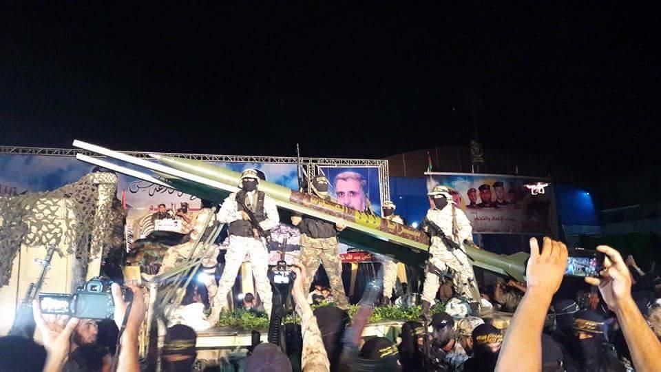 Brigade Al-Quds Pamerkan Roket Baru