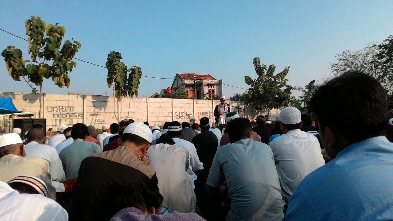 Khatib Id Ali Farkhan Ingatkan Pentingnya Persatuan Islam