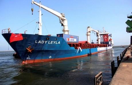 Kapal Bawa Bantuan Turki untuk Gaza Merapat di Pelabuhan Israel