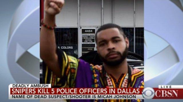 Penembak Polisi di Dallas adalah Dokter Hewan Militer