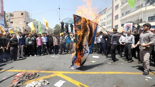 Peringatan Hari Internasional Al-Quds di Seluruh Iran