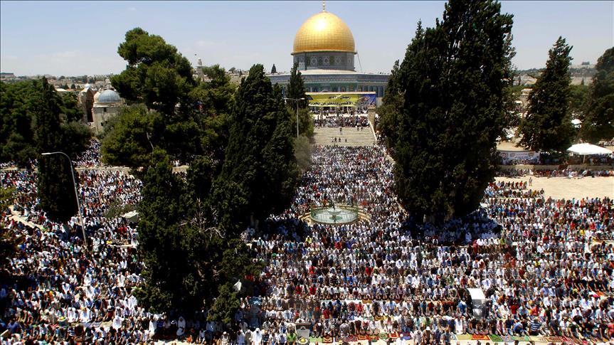 Sebanyak 150 Ribu Jamaah Gelar Shalat Idul Fitri di Al-Aqsha