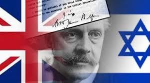 Inggris, Deklarasi Balfour dan Konspirasi Zionis
