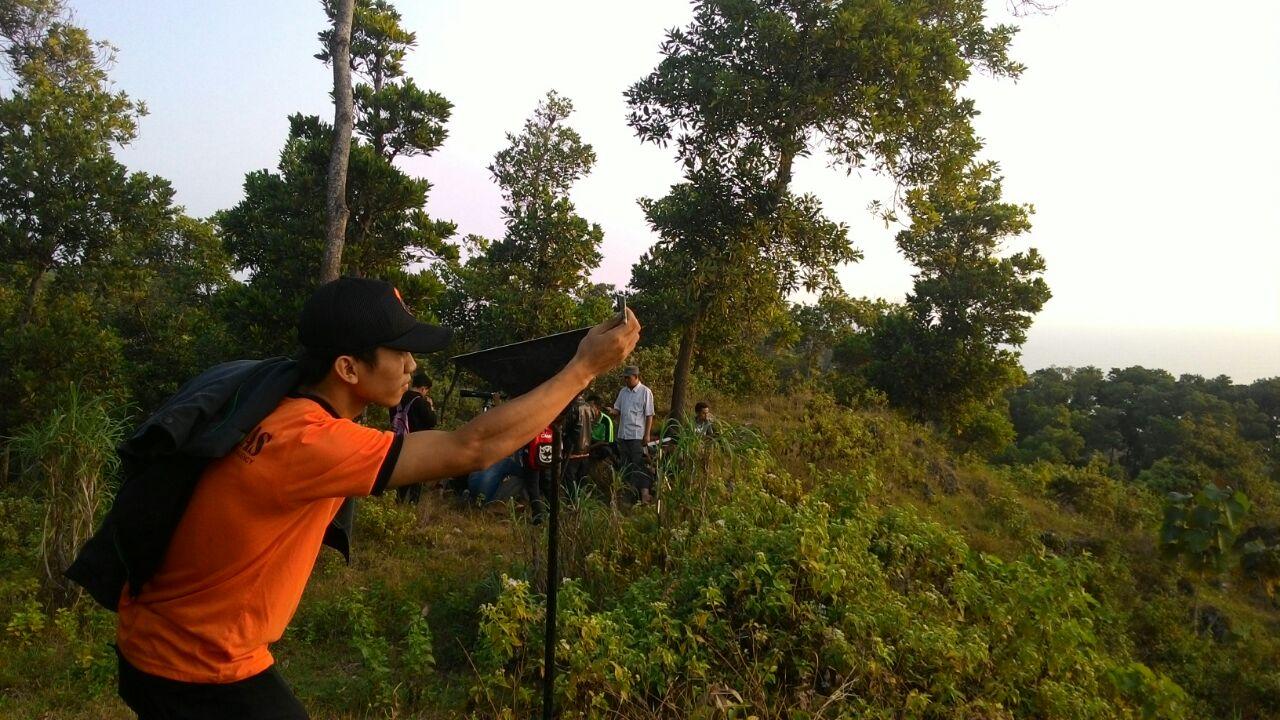 Tim DHR Hizbullah Jatengsel Lakukan Rukyatul Hilal di Kebumen