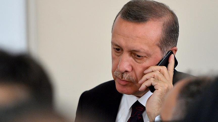Erdogan Telepon Merkel, Stotenberg, Raouhani dan Aliyev
