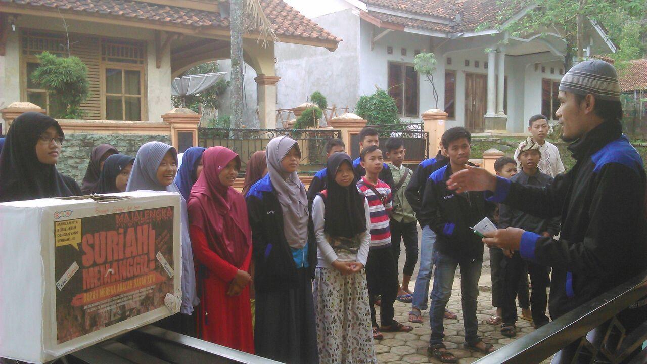 Remaja Masjid Majalengka Gencar Galakkan Pengalangan Dana Peduli Palestina dan Suriah