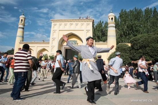 Sebanyak 20 Juta Muslim Cina Rayakan Idul Fitri