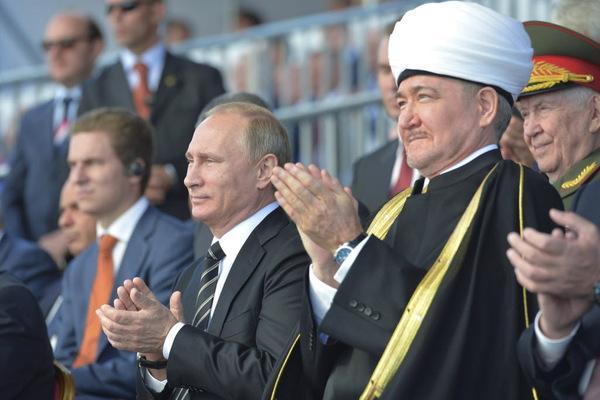 Presiden dan PM Rusia Ucapkan Selamat Idul Fitri