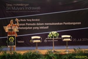 Sri Mulyani: Pemuda Adalah Kunci Keberhasilan Negeri Ini