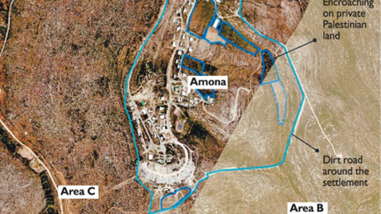 Amona, Tanah Warga Palestina yang Dicaplok