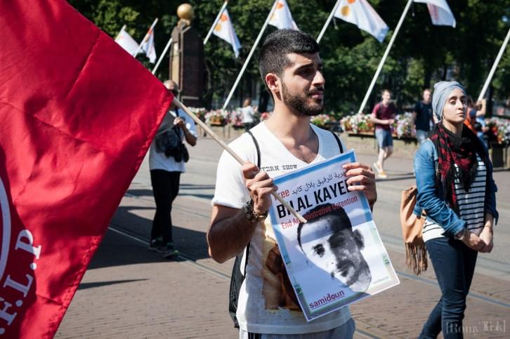 Bilal Kayed Akhiri Mogok Makannya Selama 71 Hari