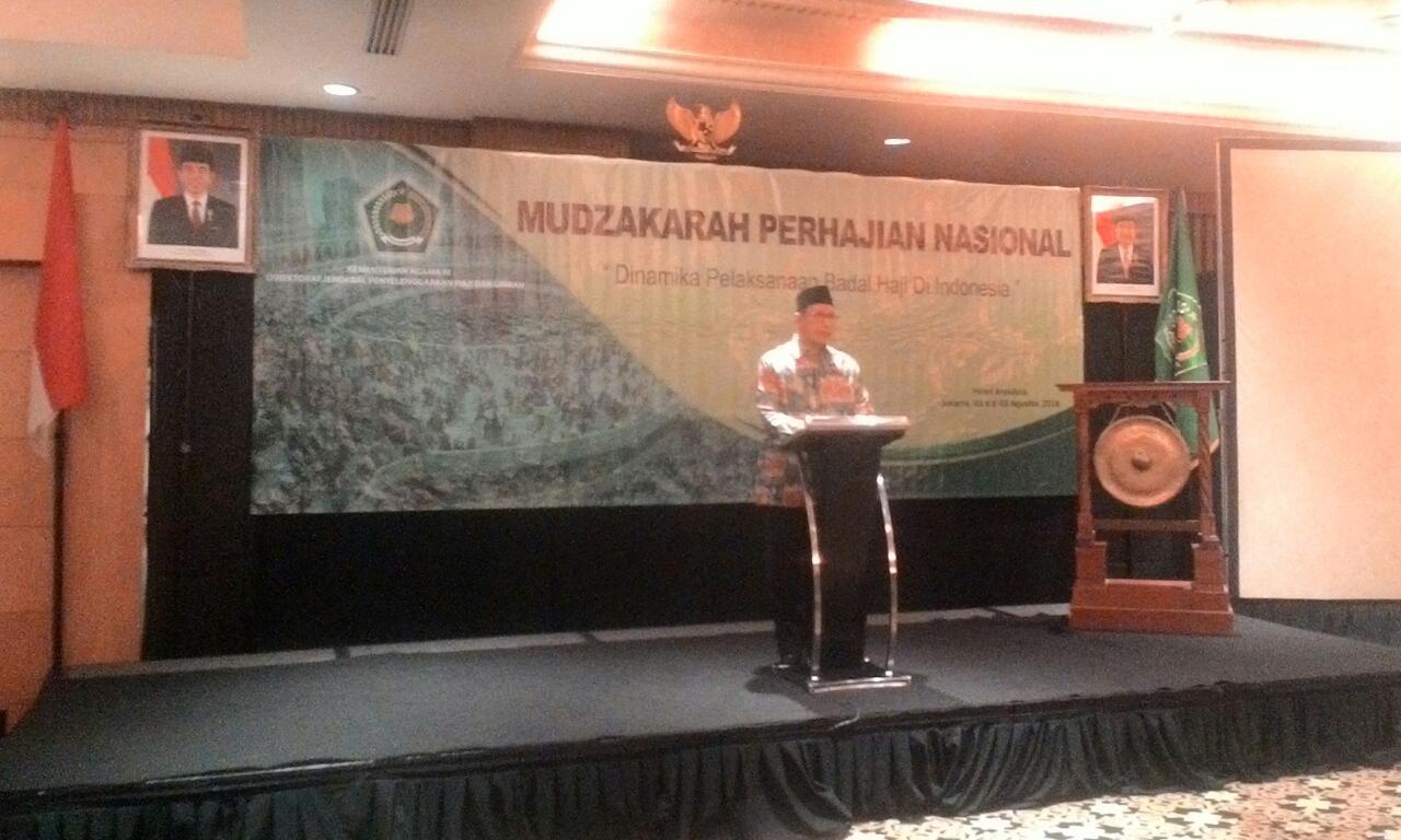 Mudzakarah Perhajian Nasional Bahas Badal Haji