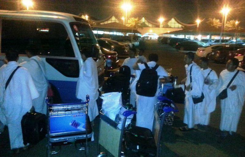 16 Mahasiswa Indonesia di Timteng Untuk Tim Pelayanan Haji Tiba di Saudi