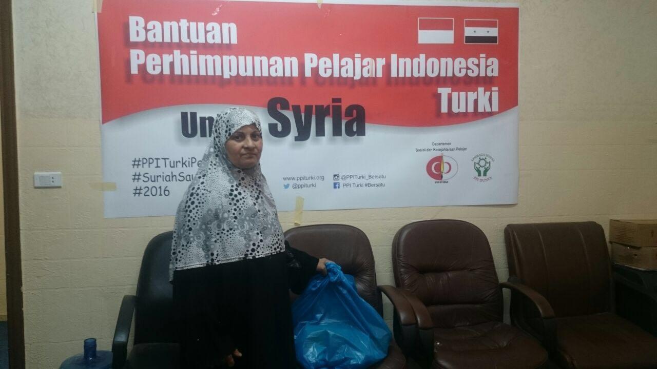 PPI Turki Salurkan Bantuan untuk Pengungsi Suriah