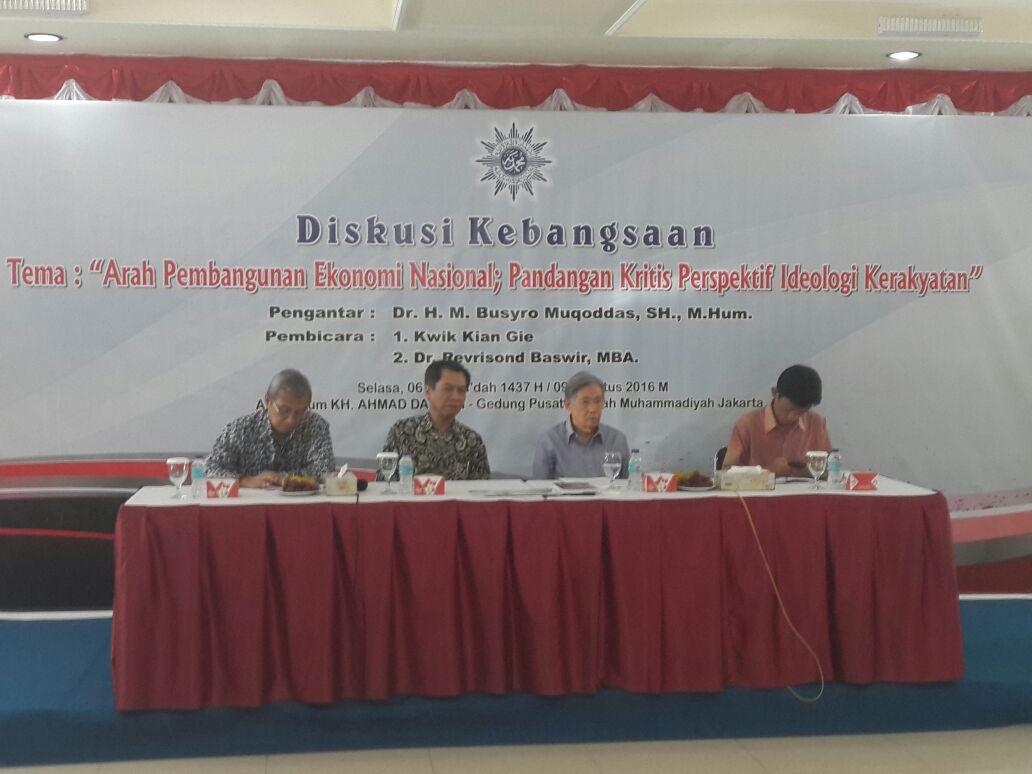 Pakar: Jangan Biarkan Kaum Kapitalis Bebas di Indonesia