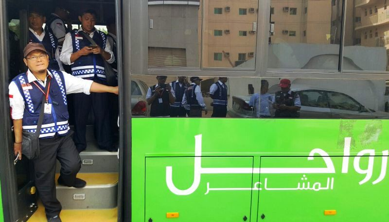 Cara Petugas Transportasi Haji Saudi Antisipasi Kepadatan Jamaah