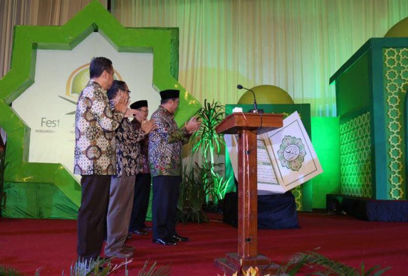 Menag Buka Festival Al Quran di Universitas Muhammadiyah Yogyakarta