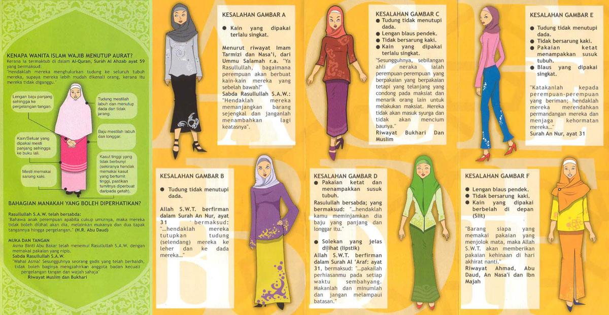 Jilbab Syar'i Bukan Mode