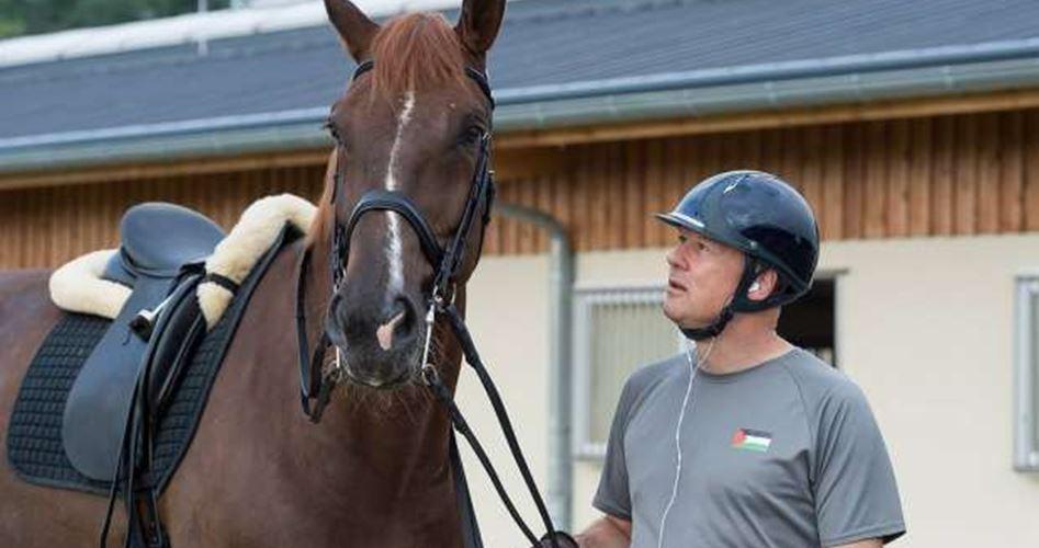 Seorang Pengusaha Jerman Sebagai Atlet Berkuda Palestina di Olimpiade