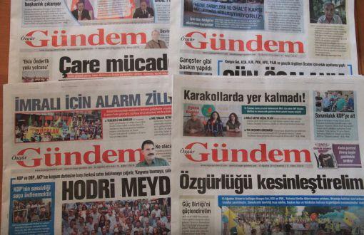 Pengadilan Turki Tutup Surat Kabar Pro-Kurdi