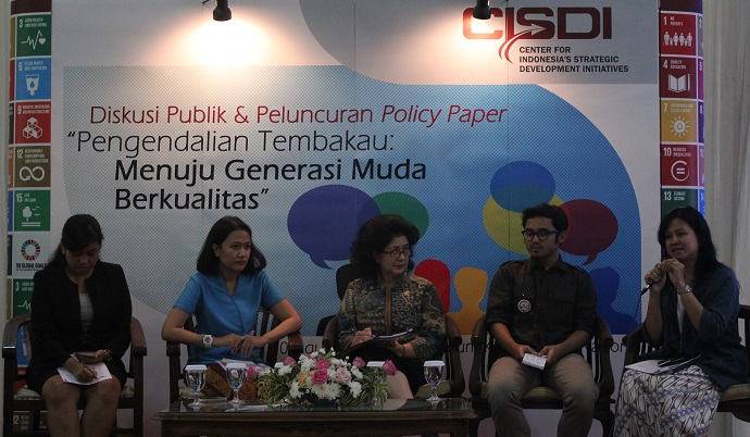CISDI Luncurkan Policy Paper untuk Mengurangi Jumlah Perokok Pemula