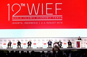 Presiden Jokowi Buka Forum Ekonomi Syariah Dunia Ke-12