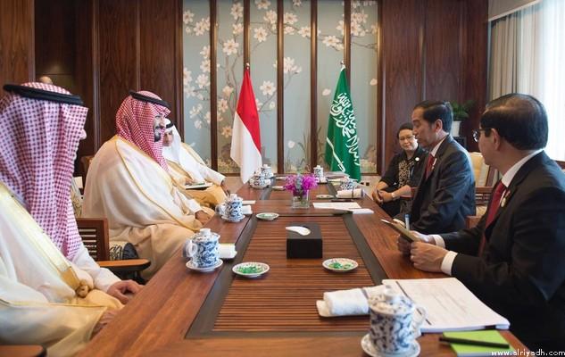 Presiden Djokowi dan Pangeran Salman Bahas Penambahan Kuota Haji