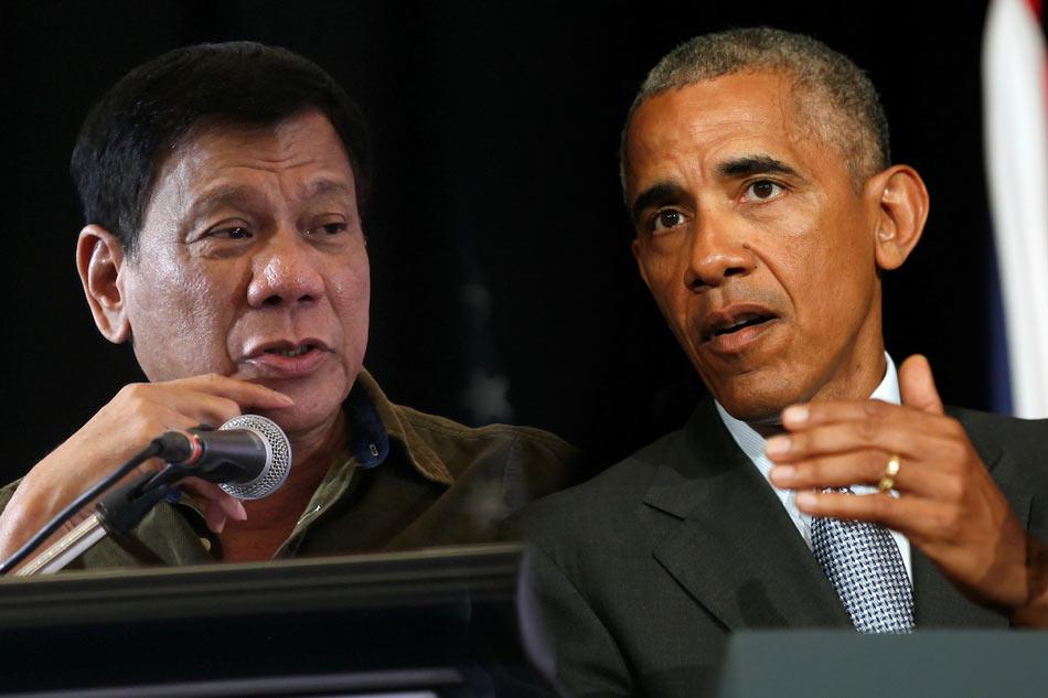 Dikatai Anak Haram, Obama Batal Bertemu Presiden Duterte