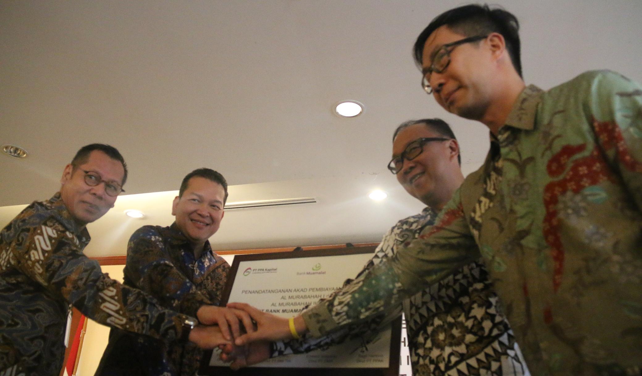 Bank Muamalat Bantu Pembangunan Pabrik Kelapa Sawit Rp75 Miliar